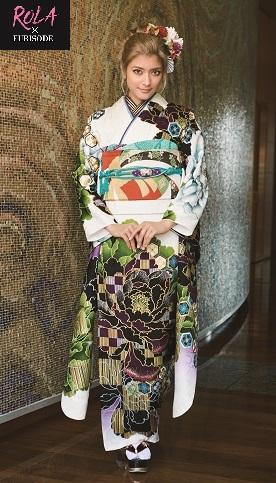 ローラ振袖*大人っぽい白* | 成人式の振袖は着物専門店あかね(石川県小松市)